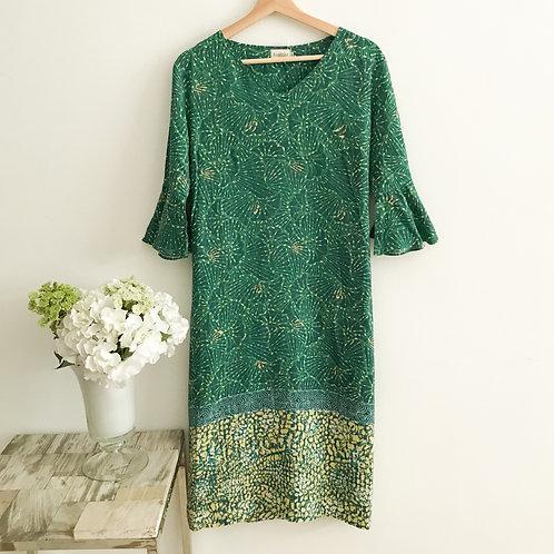 Flare Sleeve Dress - Size L
