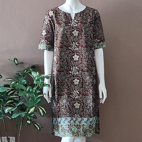 Classic Knee Length Dress - Size L