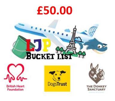£50 Charity Donation