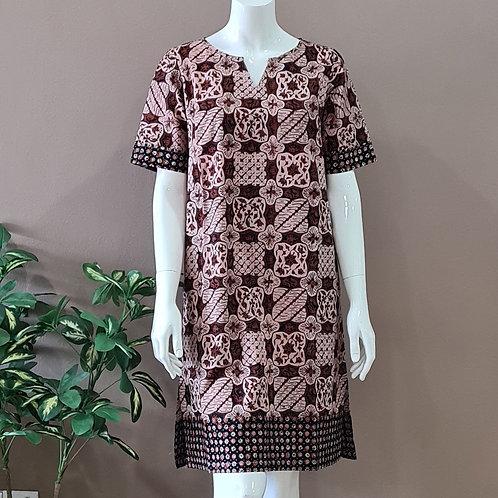 Classic Knee Length Dress - Size S