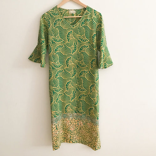 Flare Sleeve Dress - Size S