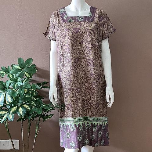 Square Neck Dress - Size XL