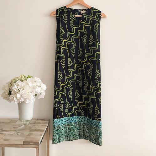 Sleeveless Knee Length Dress - Size XL