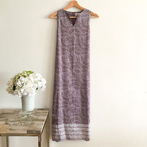 Sleeveless Maxi Dress - Size XS