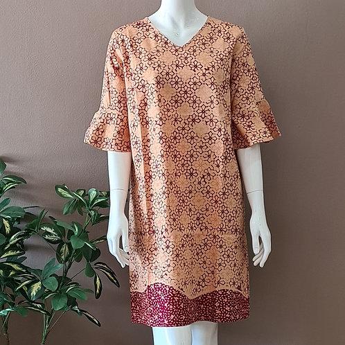 Flare Sleeve Dress - Size M