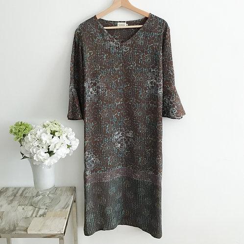 Flare Sleeve Dress - Size M, XL