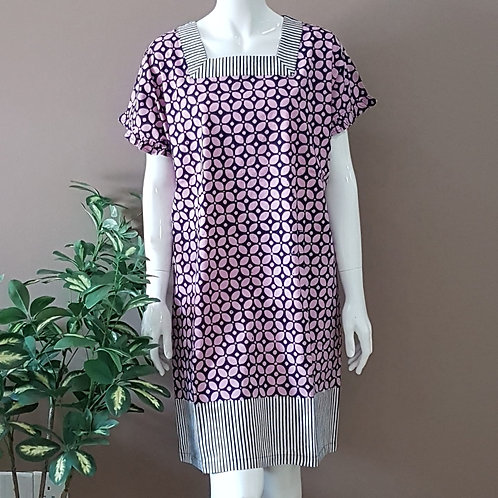 Square Neck Dress - Size L