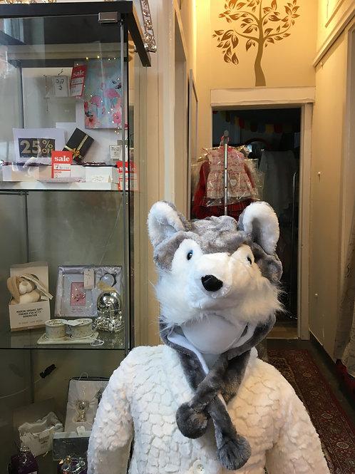 Animal Hat Husky