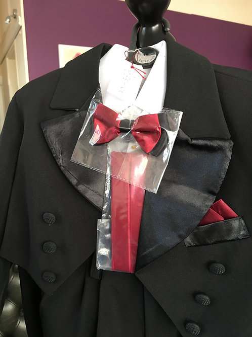 Tux with Bow Tie and Cumberbund