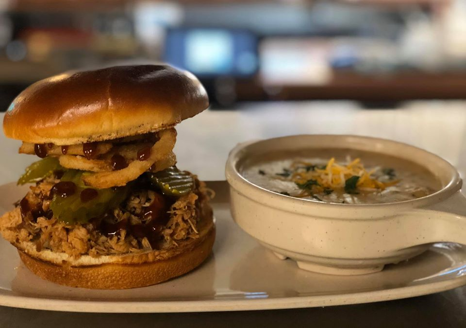 Pulled Pork and Soup