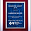 Thumbnail: High Gloss Piano Finish Plaque - Rosewood Finish Board - Gray or Blue Marble Plt