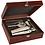 Thumbnail: Rosewood Finish Martini Making Set - Kit - Laser Engraved - Personalized