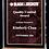 "Thumbnail: Marble Design Series 3/4"" thick - Acrylic Award - Walnut Base"