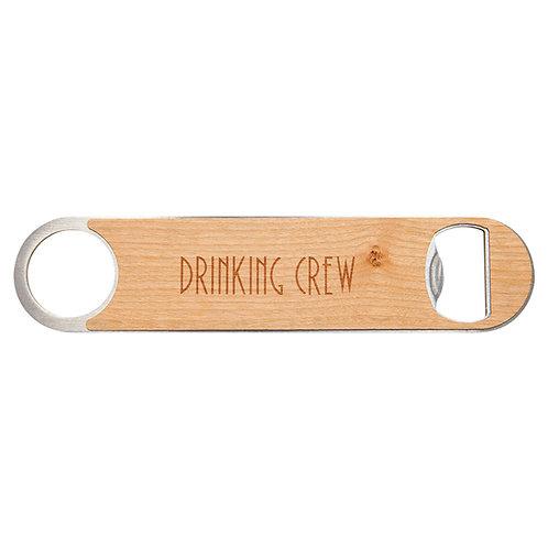 10 Laser engraved bottle openers - Wood Veneer - Personalized