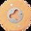 "Thumbnail: 2 3/4"" Round Wooden Magnetic Bottle Opener - Laser engraved - Magnetic"