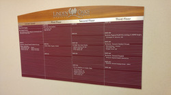 Engraved directory systems