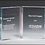 Thumbnail: Glass open book recognition award - Laser engraved - Clear or jade tinted glass