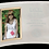 Thumbnail: Glass Crescent Picture Frame - Curved Glass - Gold Border