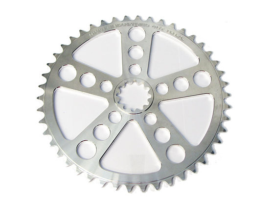 Singlespeed Chainrings - Silver