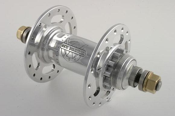 Track Rear Hub - Silver