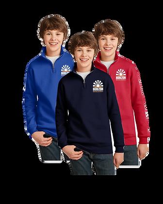 Horizon 1/4-Zip Cadet Collar Sweatshirt