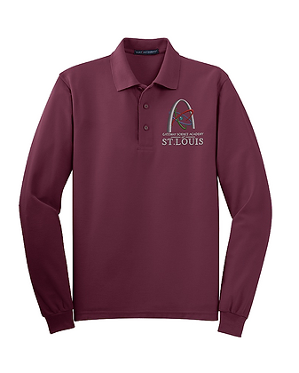 Long Sleeve-Maroon