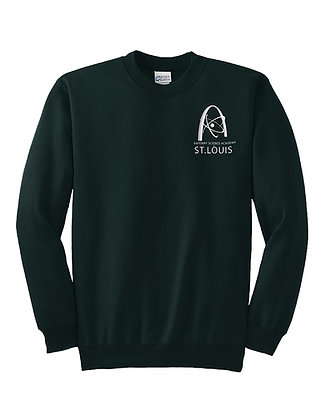 CREWNECK SWEATSHIRT- GREEN
