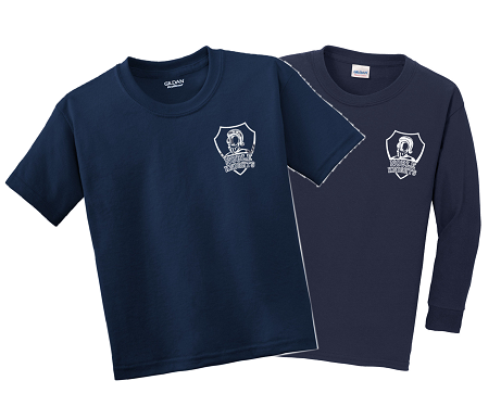 GYM T-SHIRT-NAVY