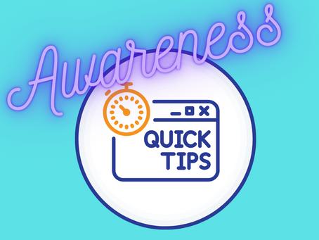 Top tips to build awareness