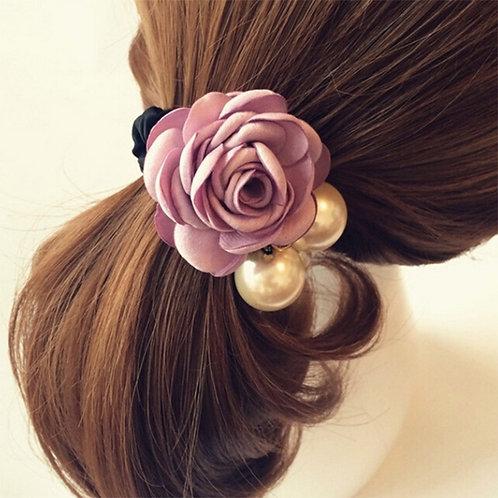 Flower hair Tie