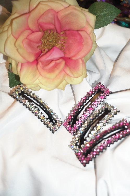 Hair clips (mix colors) 4 pieces