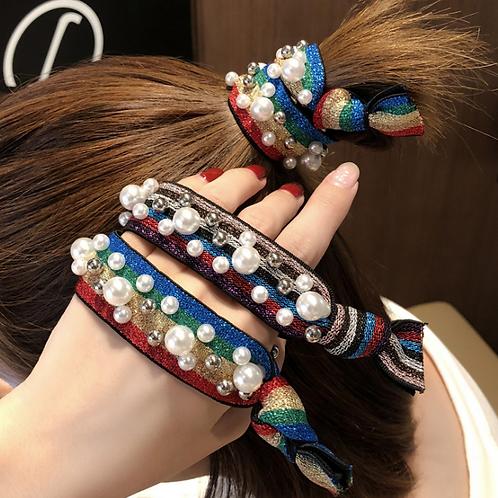 Pearls Hair Tie