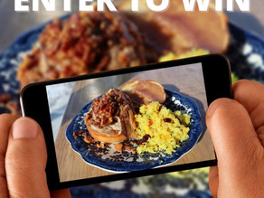 WIN a tasty gift certificate through #GetDished contest