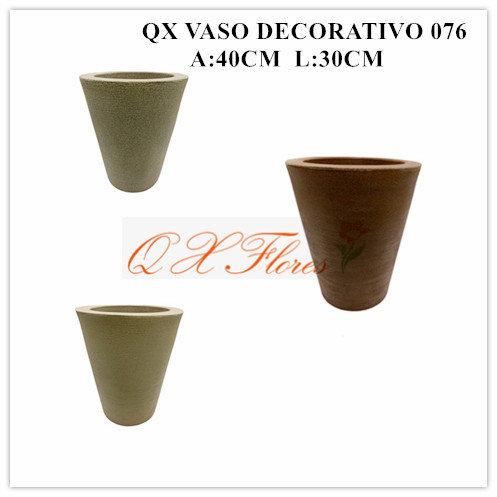 QX VASO DECORATIVO 076