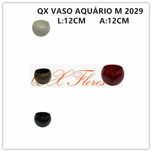 QX VASO AQUÁRIO M 2029