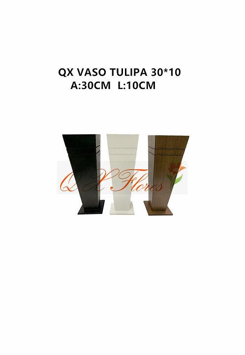 QX VASO TULIPA 30*10