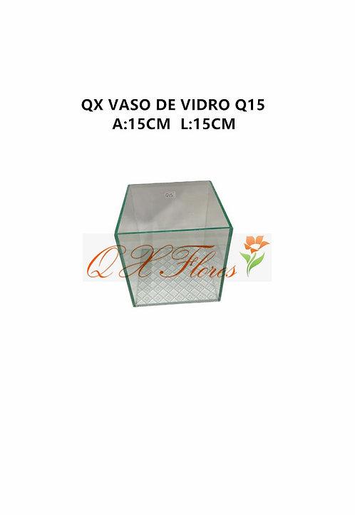 QX VASO DE VIDRO Q15