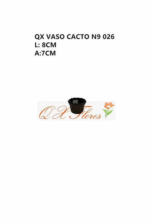 QX VASO CACTO N9 026 (1035)
