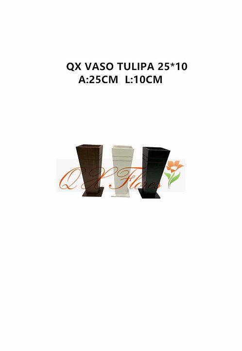 QX VASO TULIPA 25*10