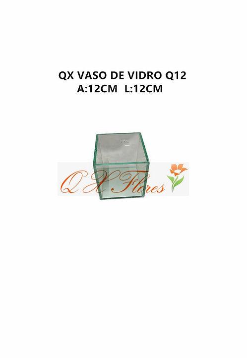 QX VASO DE VIDRO Q12