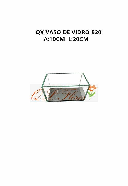 QX VASO DE VIDRO B20