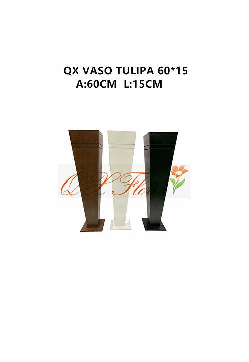 QX VASO TULIPA 60*15
