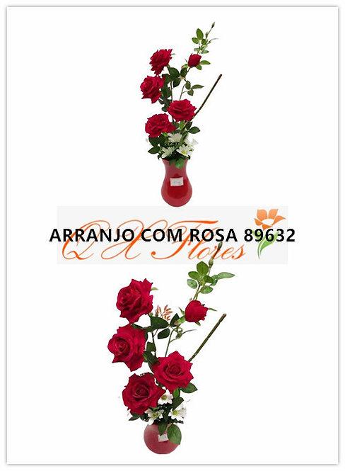 QX Arranjo com rosa 89632