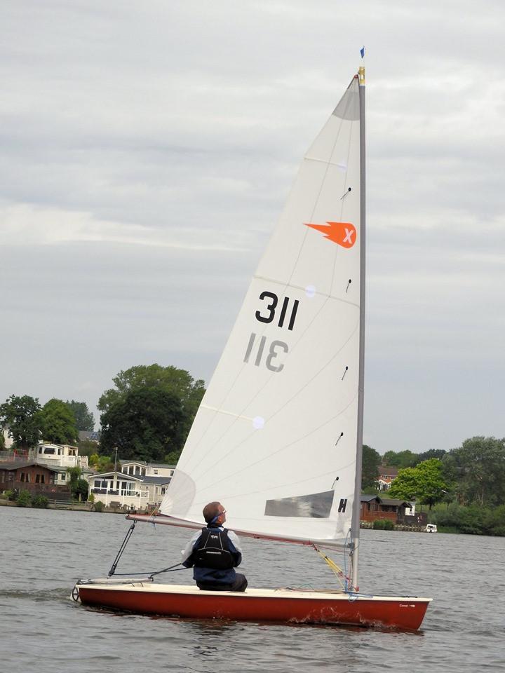 Comet Sailing at Winsford Flash
