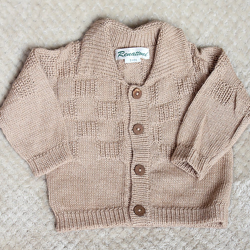 Button Down Sweater with Collar