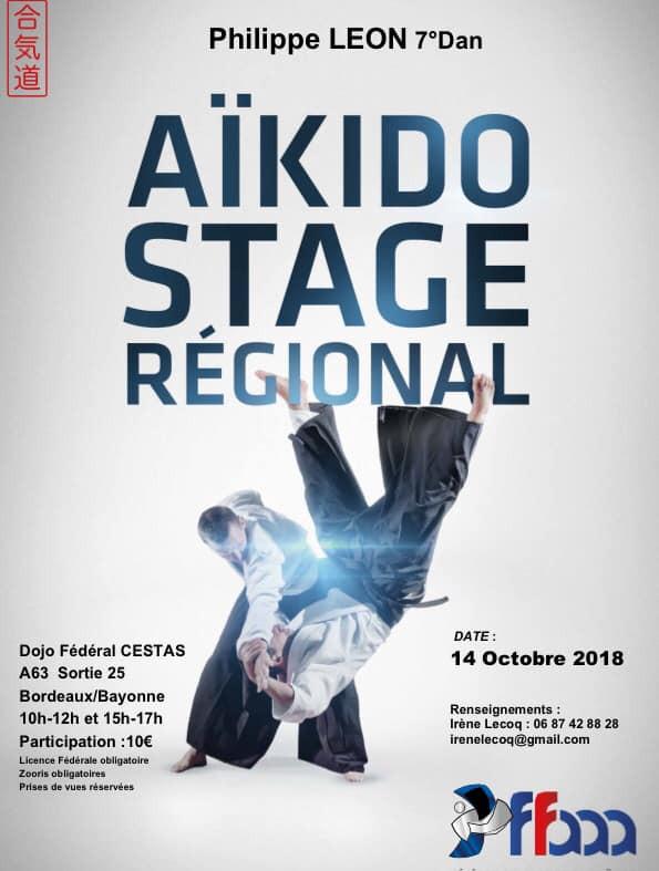 Affiche Stage Régional