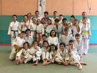 Stage vacances judo