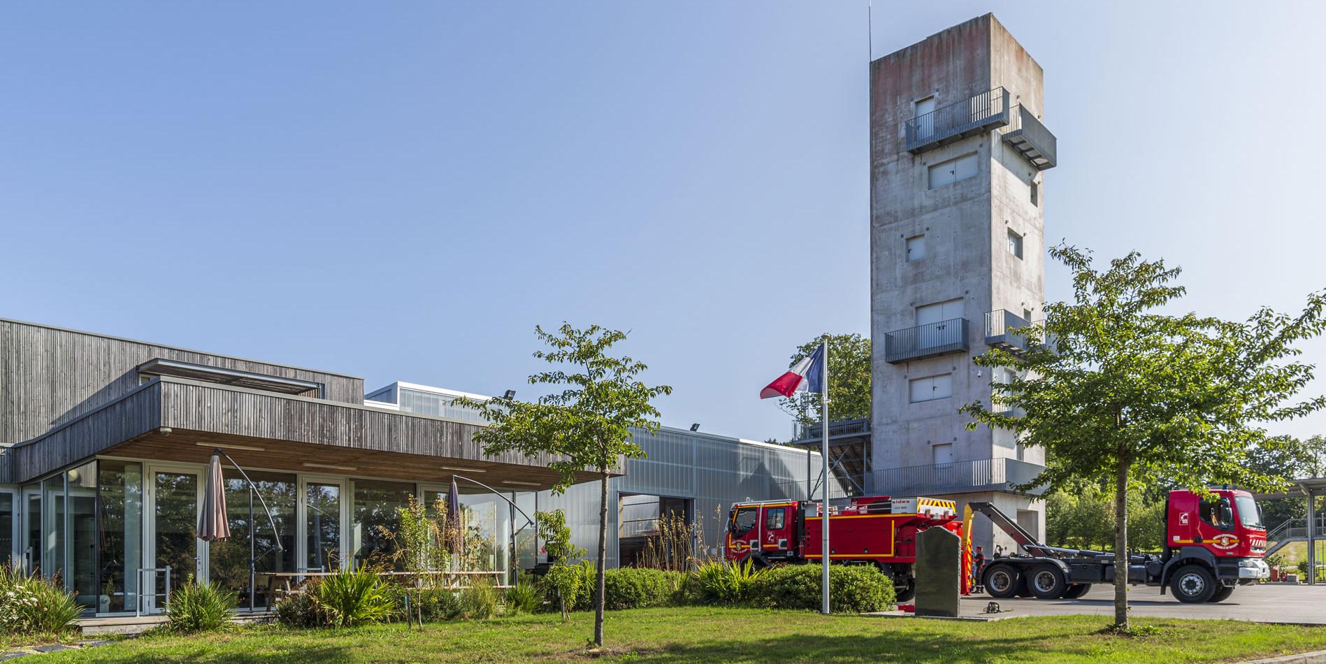 Centre-d'incendie-et-de-secours-QUIMPER-