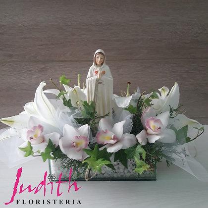 F1- Virgen, Orquídeas y Lirios