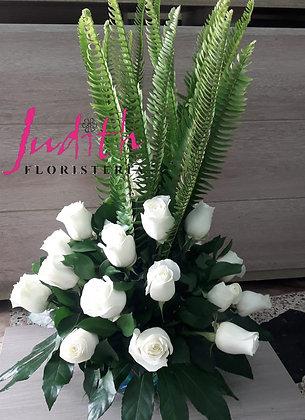 F2- Rosas blancas redondo